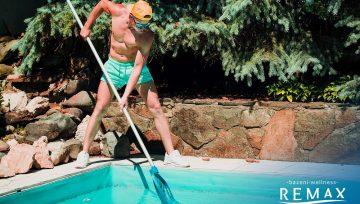 Čiščenje in zagon bazena