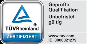 TÜV certifikat - Edini v Sloveniji
