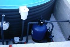 Strojnica montažnega bazena - filter kit