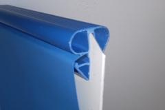 PVC rob za montažni bazen z zatičem