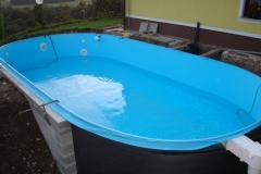 PVC bazenski vložek montažnega bazena
