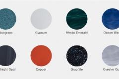 barve školjke